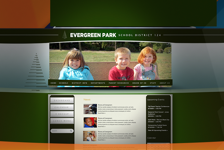 eSchoolView is proud to announce the launch of the much anticipated website for Evergreen Park District 124, located in Illinois.