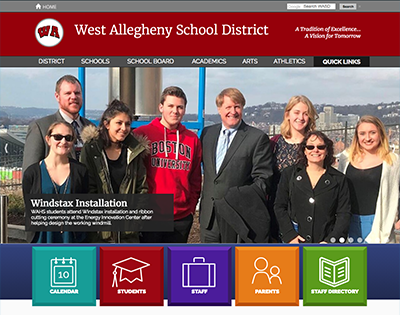 West Allegheny School District Images